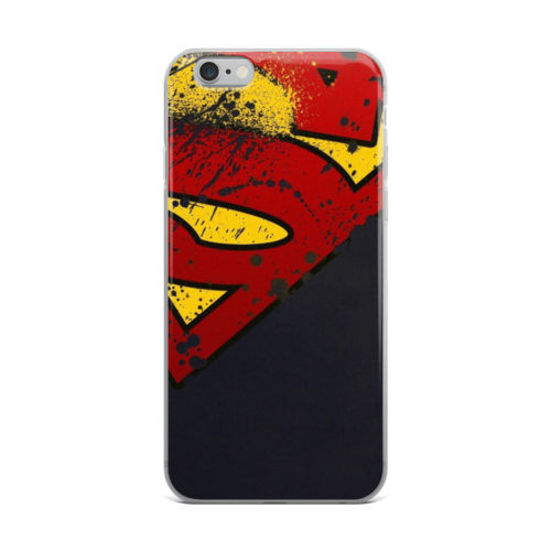 superman distressed logo mobile cover