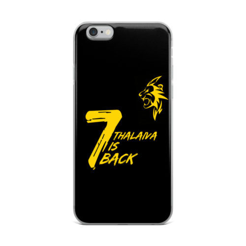 thalaiva is back mobile cover