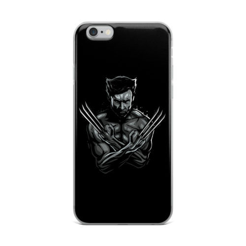 wolverine dark mobile cover
