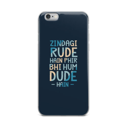 zingadi rude hai mobile cover