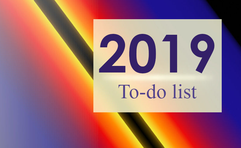 The List of Productive Things You Should Do in 2019