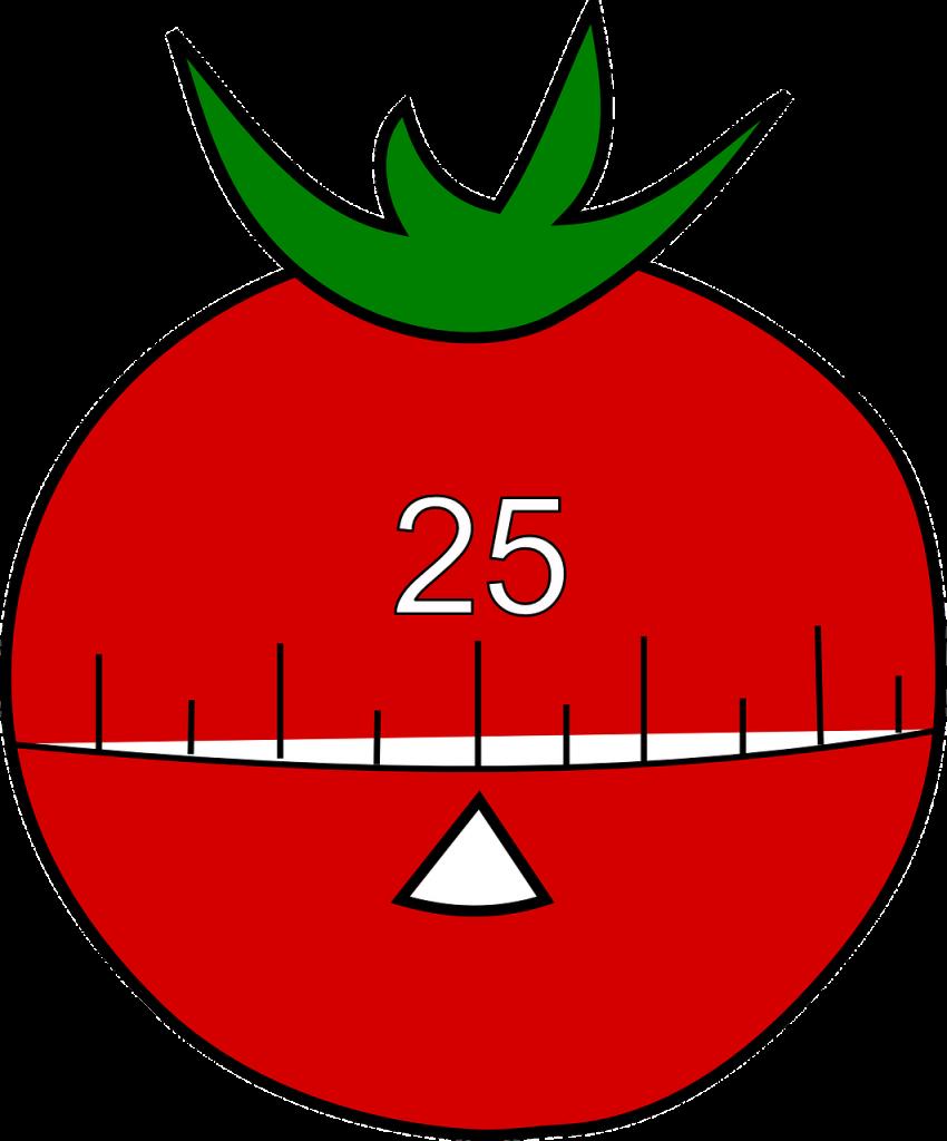 Always start a 25-minute Pomodoro (tomato) timer regardless of the circumstances.
