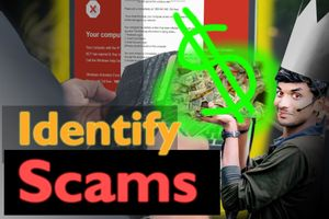 How to Spot a Scam in 3 Simple Words