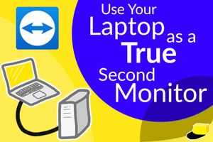 The Best Way to Turn Your Laptop into a Monitor (5 Steps)