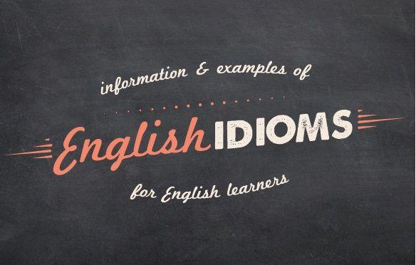 Идиомы в Английском Языке