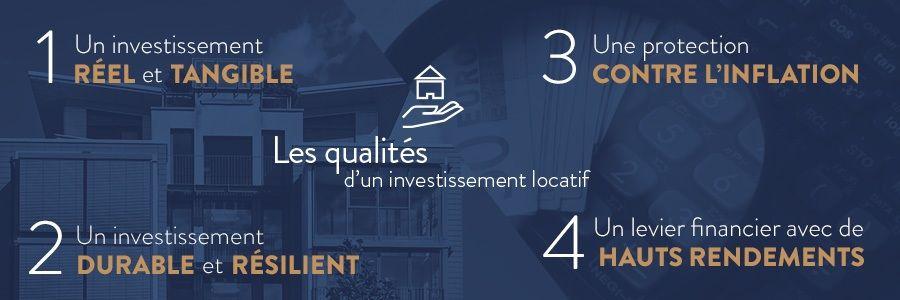 qualités de l'investissement locatif