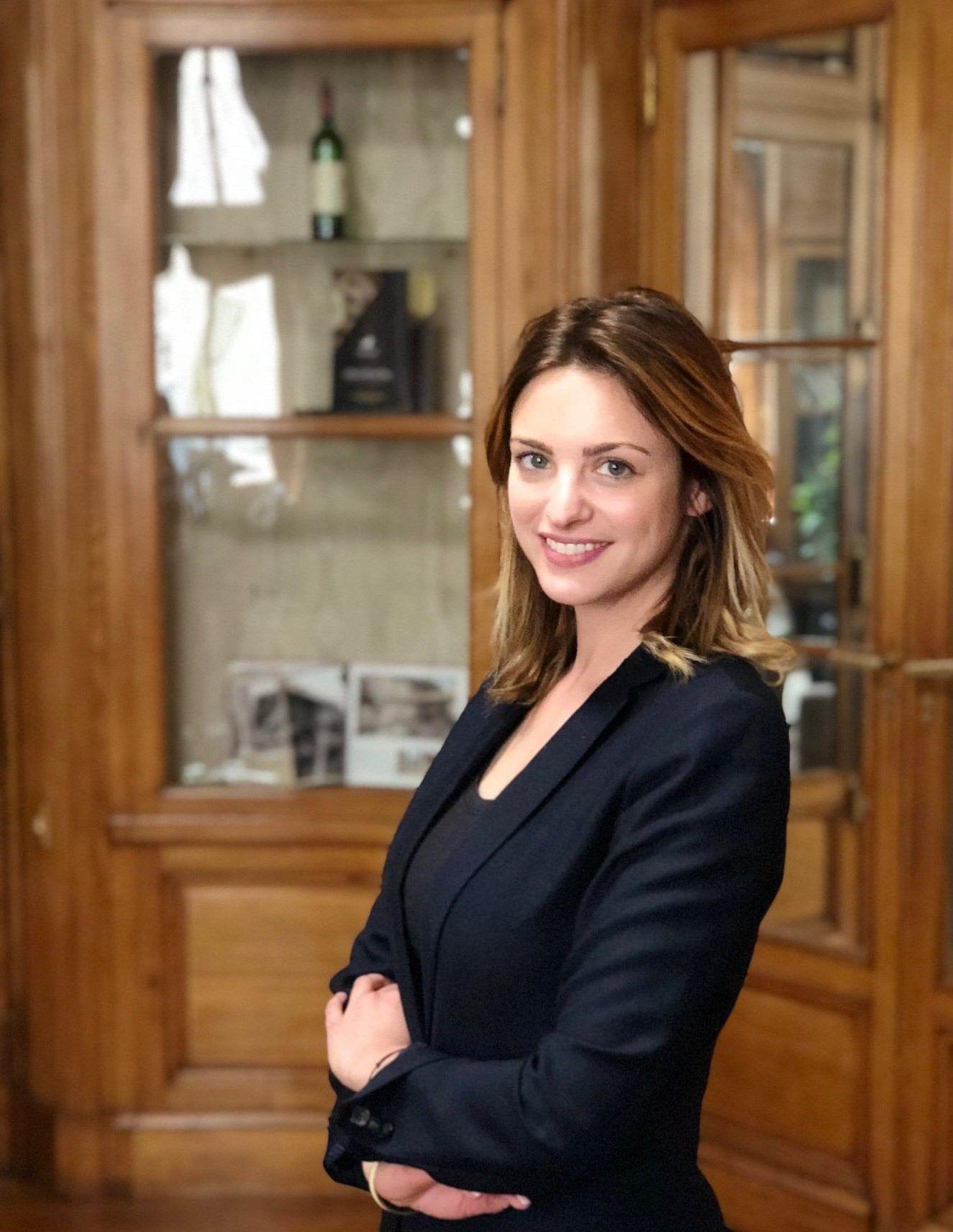 Marie Philomène Millat, responsable du pôle immobilier