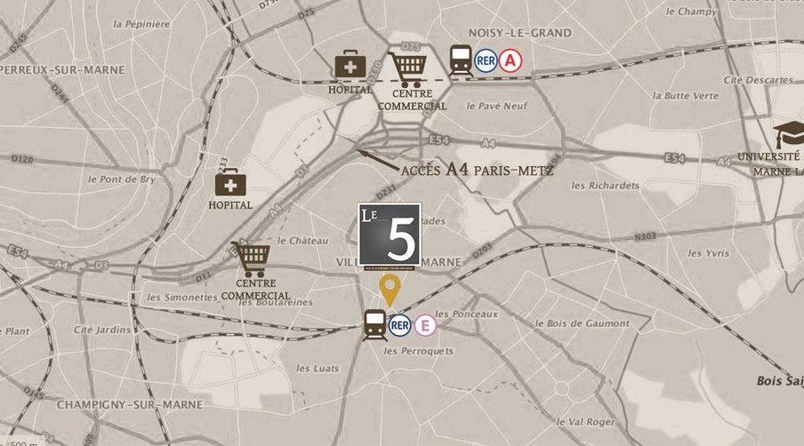 Le 5 – Villiers-sur-Marne - Cheval Blanc Patrimoine