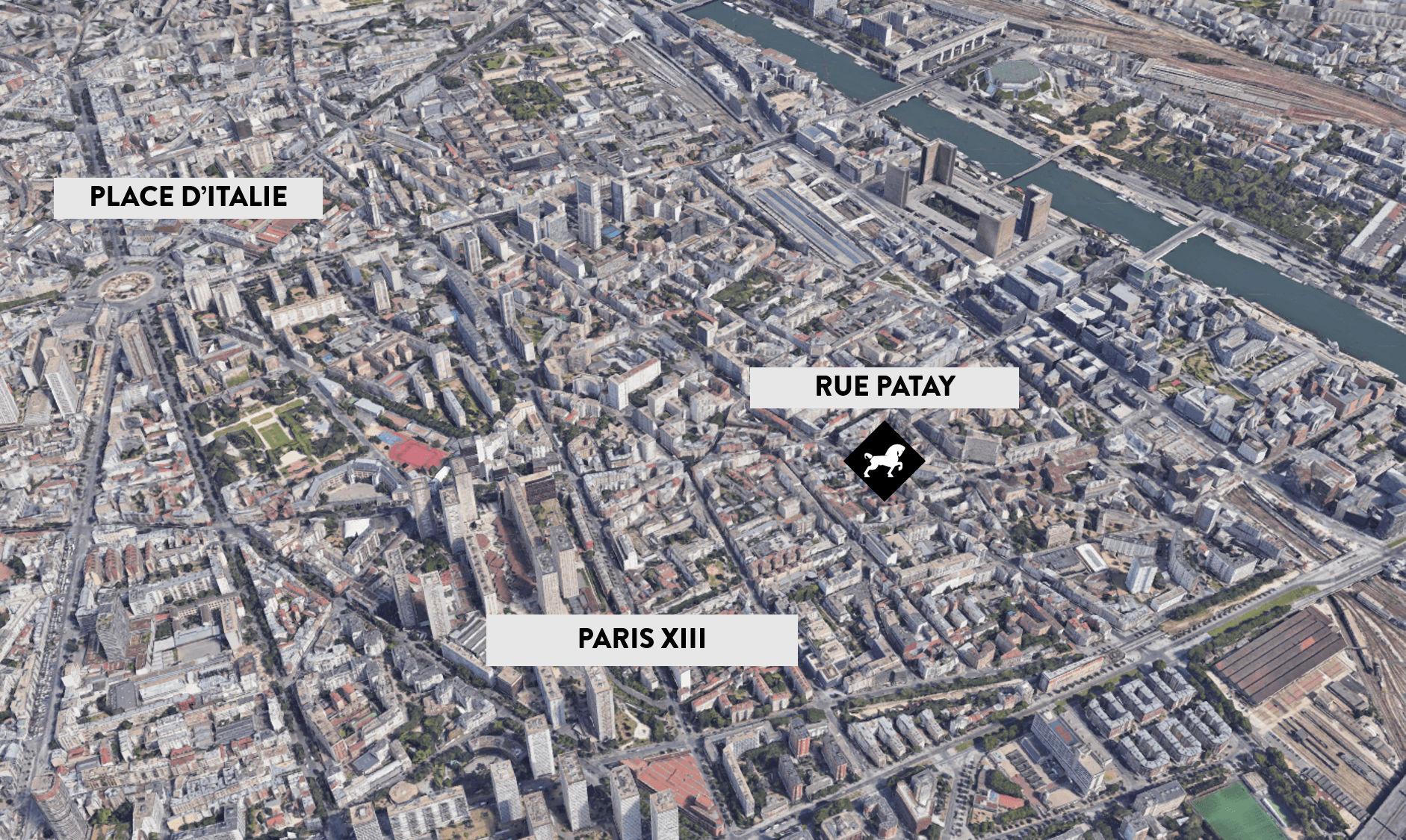 2 pièces à rénover Paris 13ème arrondissement - Cheval Blanc Patrimoine