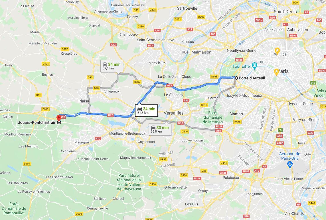 Monuments historiques – Chateau de Jouars-Pontchartrain – Yvelines 78 - Cheval Blanc Patrimoine