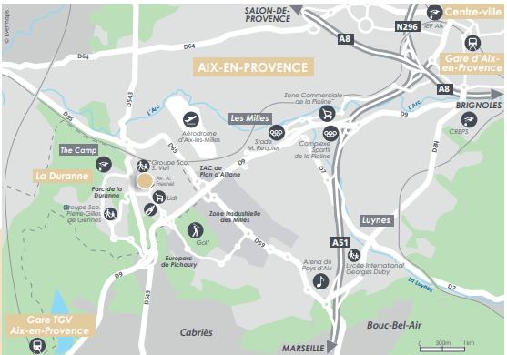 AIX EN PROVENCE - Cheval Blanc Patrimoine