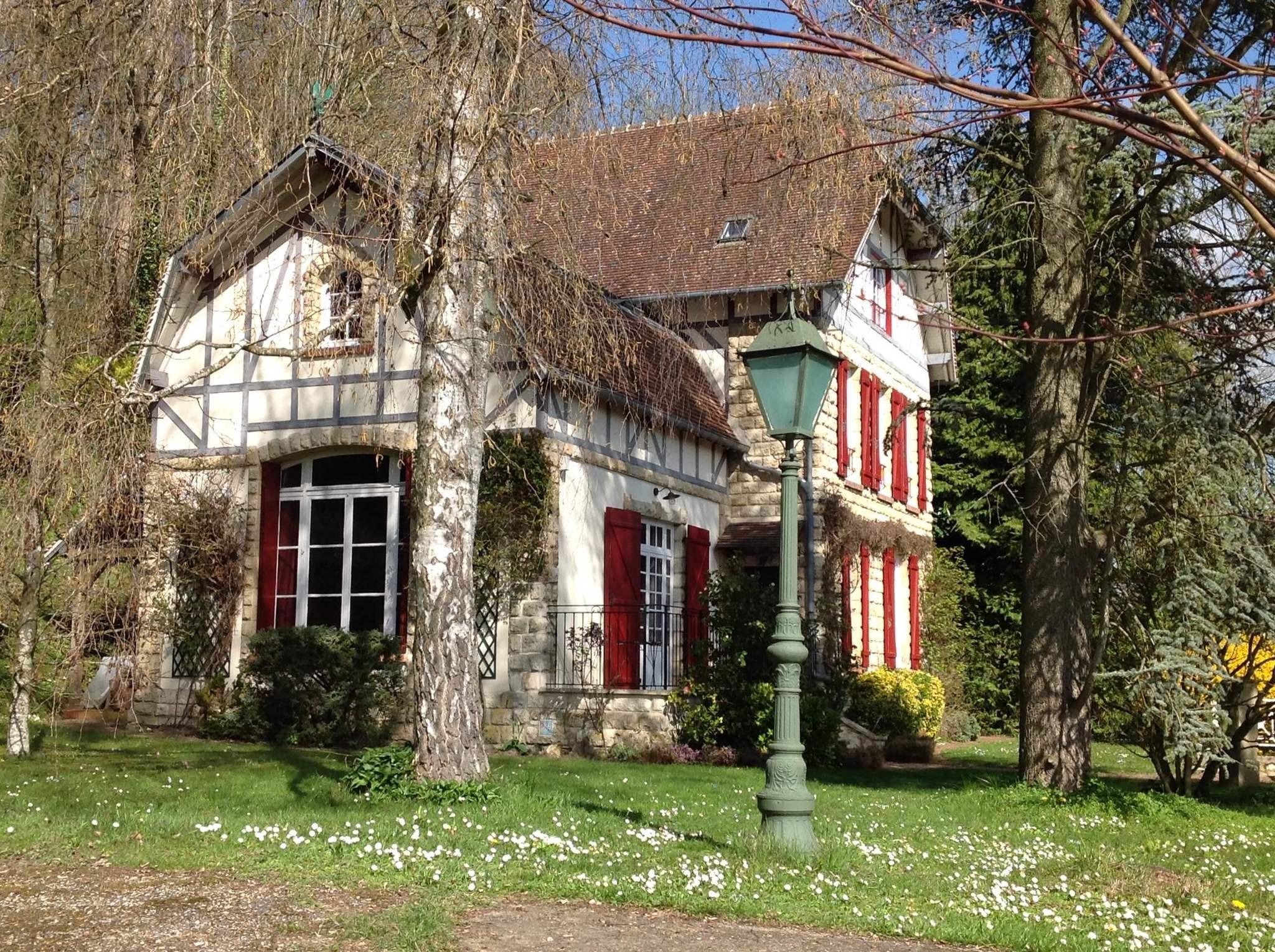 Maison de Maitre Auvers sur Oise - Cheval Blanc Patrimoine