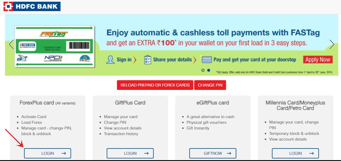 hdfc-prepaid-card-net-banking