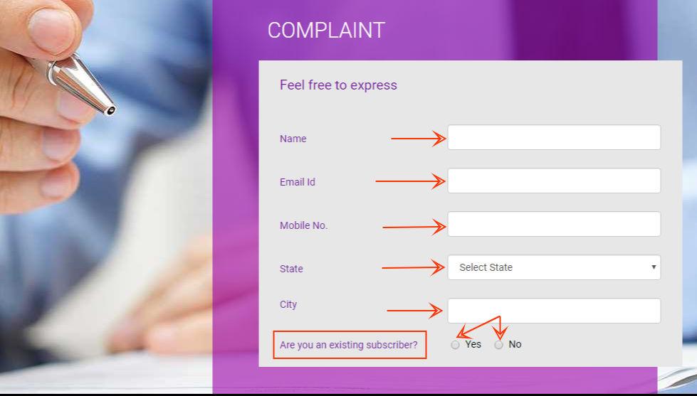 videocon-d2h-complaints