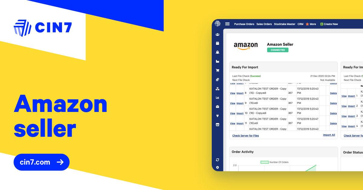 Amazon Seller, Vendor, FBA