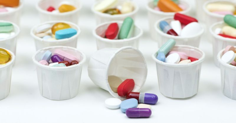 Paper Pill Cups