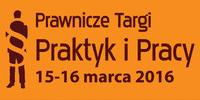 2016 logo prawnicze targi praktyk i pracy krzywe orange