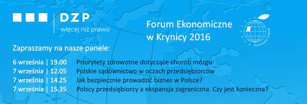 forum ekonomiczne DZP 646x220