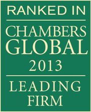 Ranked in Global Lawyer 2013
