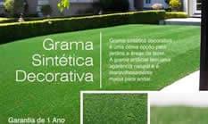 grama sintetica decorativa