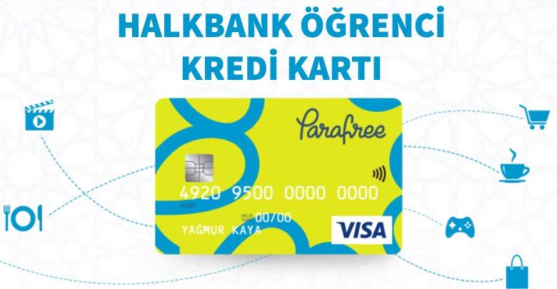 Halkbank Öğrenci Kredi Kartı - Halkbank Parafree