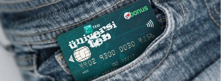 TEB Öğrenci Kredi Kartı - ÜniversiTEB Bonus Kart