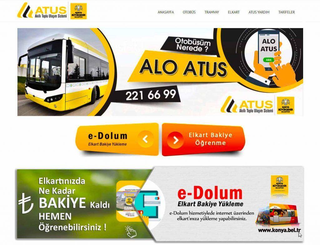 Konya ATUS Bilgi Sistemi