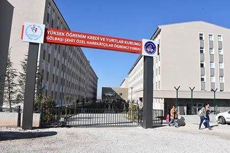 Ankara Şehit Özel Harekatçılar KYK Yurdu
