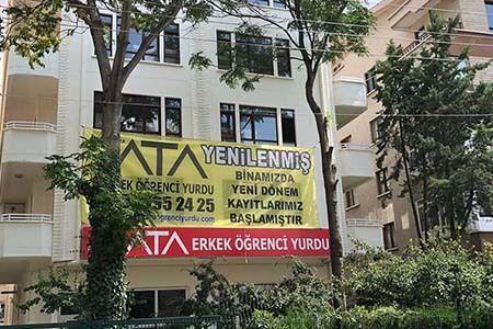 Ankara Ata Erkek Öğrenci Yurdu