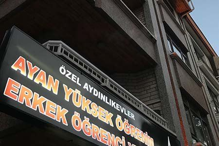 Ankara Aydınlıkevler Ayan Erkek Yurdu