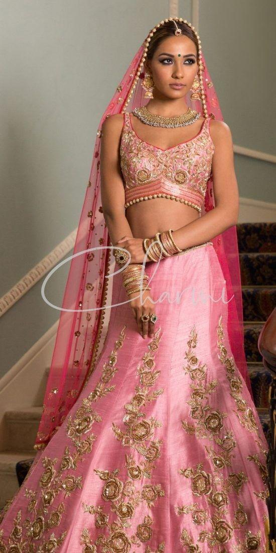 Rose Pink Indian Wedding Reception
