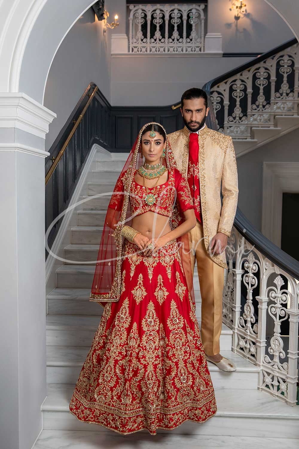 Bridal Lengha & Grooms Sherwani in UK