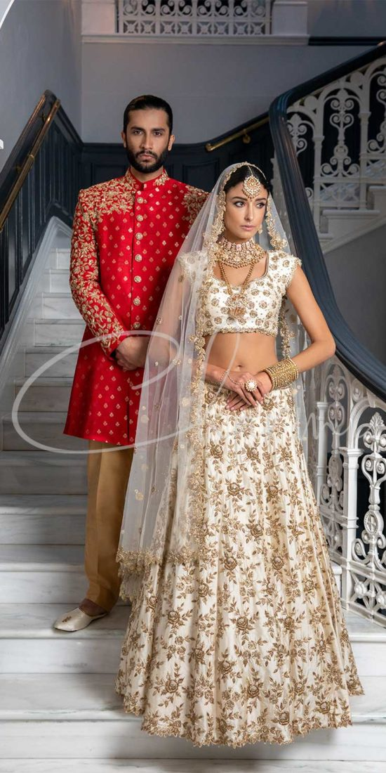 Indian Wedding Outfit for Bride & Groom