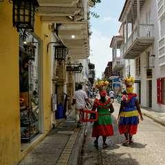 Cartagena Streets Colombia