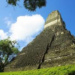 Tikal Pyramid Guatemala