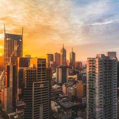 Melbourne Australia Cityscape