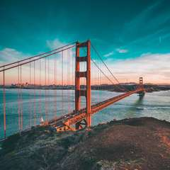 San Francisco Golden Gate Bridge United States America