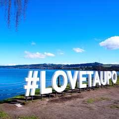 Taupo Sign