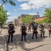Police line - martial law