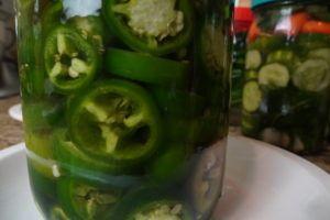 Prepper Pickled Purslane Peppers