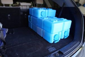 Camping with WaterBricks