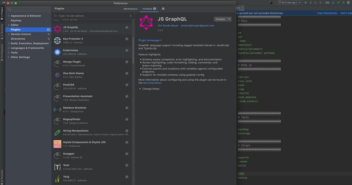 Плагины для Webstorm IDE от JetBrains (обновляемая)