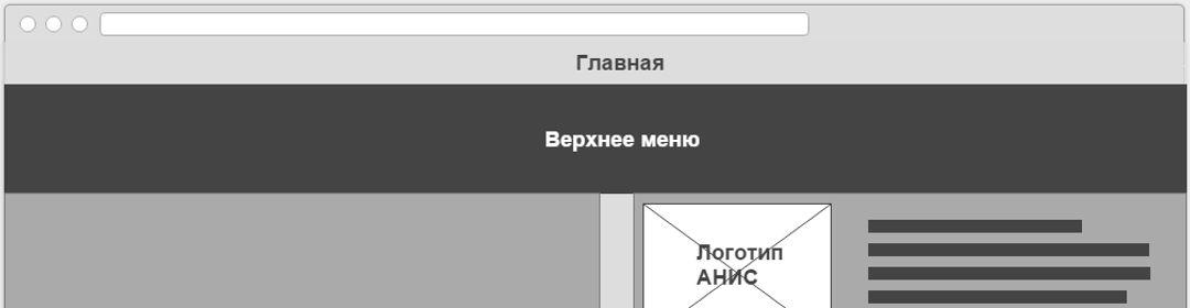 Обновление раздела сайта для стоматологии «АНИС»
