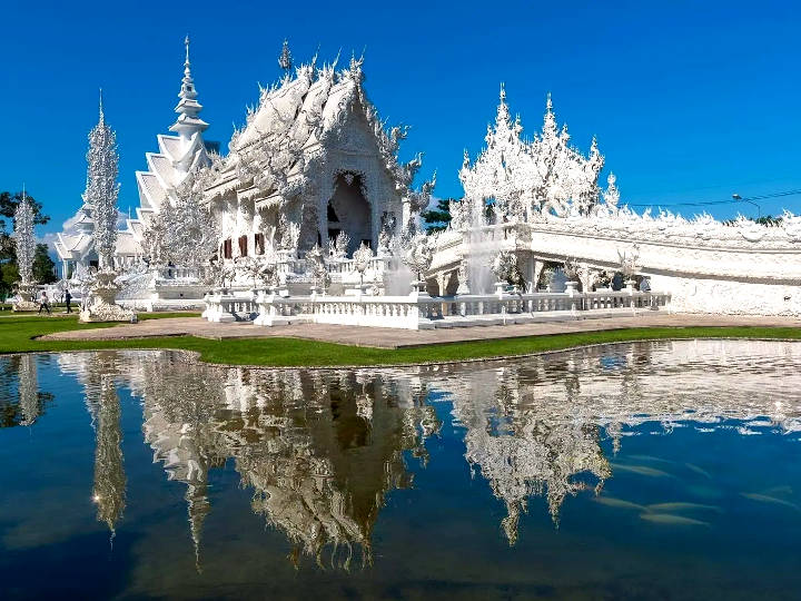 Wat Rong Khun (The White Temple) , Chiang Rai