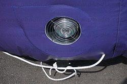 montgolfière publicitaire auto ventilee