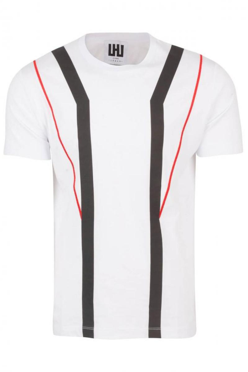 1511Les_Hommes___Embroidered_Round_Neck_T_Shirt