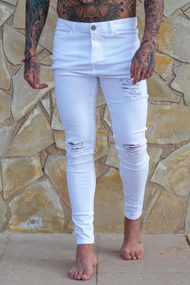 3218Sinne__Ripped___Repaired_Jeans_White