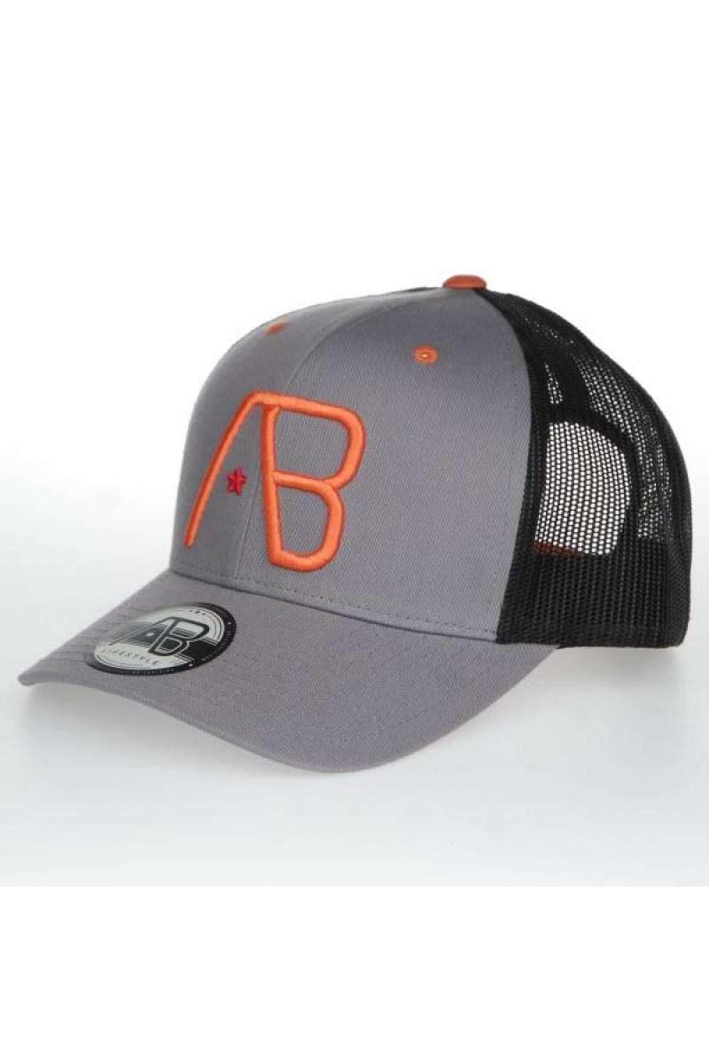 4132AB_Lifestyle___AB_Retro_Trucker_Grey_Orange