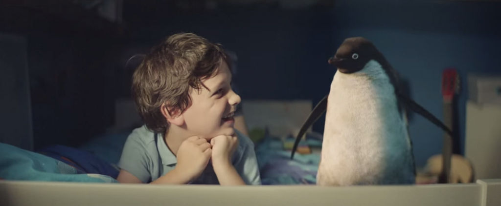 John Lewis Christmas advert 2014 featuring Monty the penguin