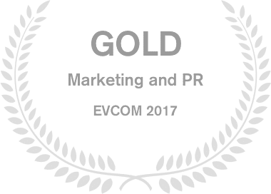 Image of GOLD: Marketing and PR EVCOM 2017